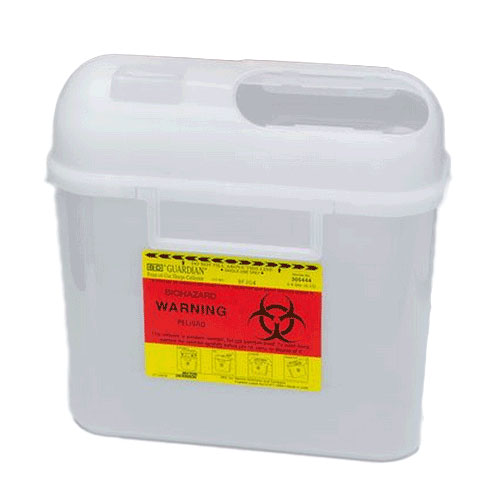 BD Sharps Collector 5.4 Quart BD Sharps Container
