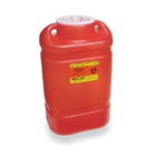 BD Sharps Collector X-Large 19.7 Qt. (5 Gal.) Large Funnel, Red