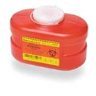 BD Sharps Collector 3.3 Quart small, Red, Single Container