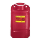 BD Sharps Collector X-Large 19.7 Qt. (5 Gal.) Open Top, Red