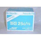 BD General Use Sterile Hypodermic Needle. 25 G x 5/8