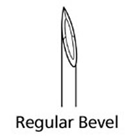 BD Sub-Q Sterile Hypodermic Needle. Regular Wall, Regular Bevel. 26 G x 5/8