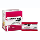 HurriCaine One Unit Dose non-aerosol spray 0.5ml each, 25/Bx. 20% Benzocaine