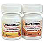 HurriCaine Topical Anesthetic Liquid - Wild Cherry, 1 oz. Jar. Benzocaine 20%