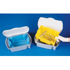 Euro-Tray Holding Tray with Removable Blue Insert for Rinsing Procedures