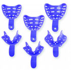 Edentulous Tray Aways Assorted Sizes (2 of each size) Perforated Impression