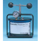 Pressure Pot Hydraulic Water Press - used in creating bubble-free relines, repairs, splints