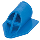 TC Retractors Blue, Disposable Tongue and Cheek Retractors. Fit securely onto evacuator tube
