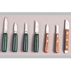 "Buffalo Dental #8 (2"" straight blade) knife with green enameled handle"