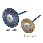 "BUFF-TUFF 3/4"" Steel Wire HP rotary brush, 12/pack. Designed for tough cleaning"