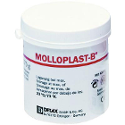 Molloplast-B Soft Relining Material, 170 Gm. Jar. Heat-curing, single