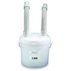 Trap-Eze Disposable Plaster Trap Kit, 3-1/2 Gallon Complete Kit. Includes 3-1/2 gallon sealed trap
