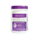 "Microdot Minute Wipe Surface Disinfectant Cleaner 160 Wipes/Can. 6"" x 6.75"""