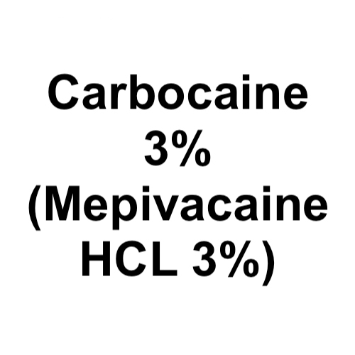 Cook-Waite Carbocaine 3% (Mepivacaine HCL 3%) Loc