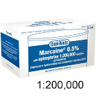 Cook-Waite Marcaine Bupivacaine 0.5% Local Anesthetic with Epinephrine