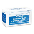 Cook-Waite Marcaine Bupivacaine 0.5% Local Anesthetic with Epinephrine 1:200,000, Box of 50 - 1.8
