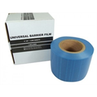 "Cargus 4"" x 6"" Blue Barrier Film with non-stick edges and extra tacky adhesive"
