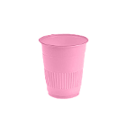 MARK3 Disposable 5 oz Plastic Cups - Pink - 1000/Cs. Made with Polypropylene