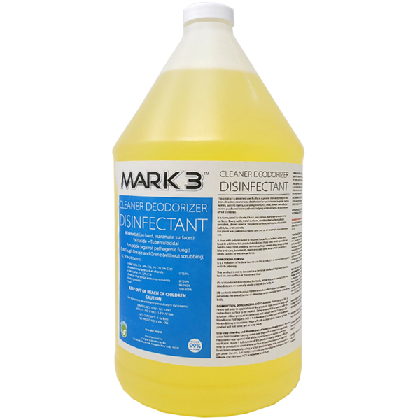 MARK3 Cleaner Deodorizer Disinfectant, 1 Gallon B