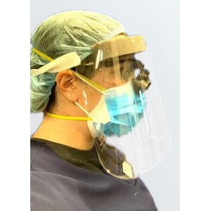 "CC Face Shields 9"" Full Size Face Shields, 120/Pk"