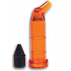 Accudose Tubes and Plugs - High Viscosity PhotoBloc Orange Tube and Black Plug