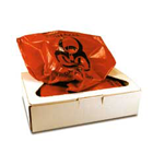 "ProTector 12 gallon (24"" x 30"") Infectious Waste Collection Bags, 100/Box"