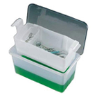 C-Tub Instrument Receptacle for Liquid Disinfectants and Sterilants. Holds up