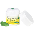 Cetacaine Topical Anesthetic Gel 32 Gm Jar. Cool Mint flavor. Benzocaine 14%