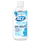 Act Total Care Dry Mouth Rinse with Fluoride, Fresh Mint flavor, Case of 48 - 1