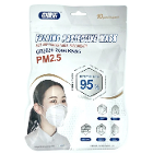 Chengde KN95 Mask, White, 10/Bx. Folded Earloop p