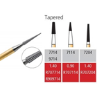 Alpen FG #9714 30 Blade Tapered Trimming and Finishing Bur, Package of 5 Burs