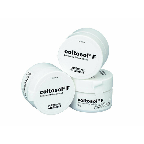 Coltosol F Temporary Filling Material - 3 jars of