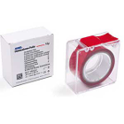 Hanel Occlusion Foil, Two-sided Red, 12 microns, 22 mm x 25 m roll