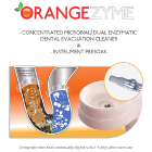 Orangezyme Concentrated Microbial/Dual Enzymatic Dental Evacuation Cleaner &