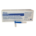"Monoject #400 30 gauge X-Short (.50"") sterile disposable BLUE plastic hub"