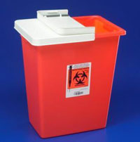 Sharps Container 18 gallons Sharp Disposal Contai