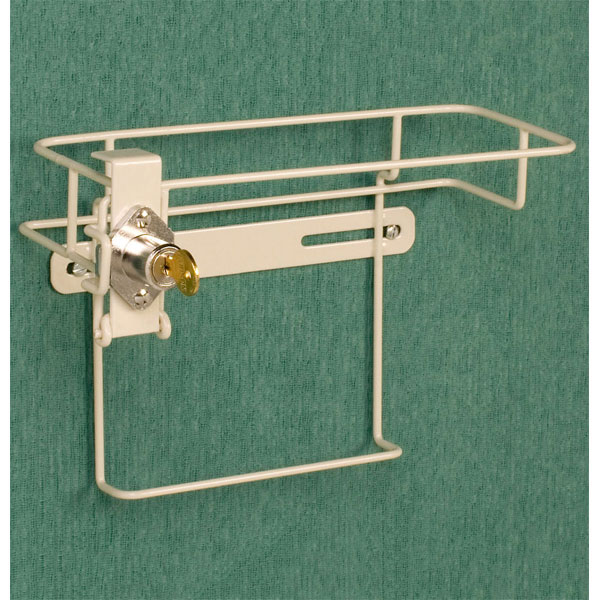 08895f6a68a4 Sharps Container Locking Wall Bracket for 5 Quart In-Room Containers.  Includes