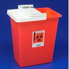 Sharps Container 18 gallons Sharp Disposal Container Red