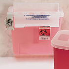 SharpStar In-Room 5 Qt. In-Room Sharps Container with Counter Balanced Lid