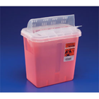SharpStar 8 Qt. Sharps Container, Multi-Purpose with Horizontal Drop Lid