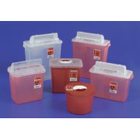 SharpStar 8 gallons Sharps Container with Sliding Lid, Red