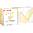 SIGMA Latex Gloves: X-LARGE Powder-Free, Textured, Non-Sterile 100/Bx