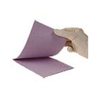 "Advantage Plus Lavender Patient Bibs plain rectangle (13"" x 18""), 3 Ply Paper/1"