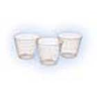 Crosstex 1 oz. Medicine/Mixing Cups - Clear Plastic, Box of 100