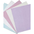 "Crosstex 10"" x 13"" Lavender Polycoated Headrest Covers. Manufactured from soft"