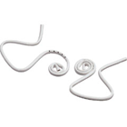 Crosstex Hygoformic Saliva Ejectors, Unique adjustable coil design with smooth edges helps keep