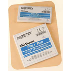 "Crosstex 3"" x 6"" (8cm x 15cm) Poly Mixing Pad. Extra heavy with a high poly"