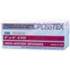 "Crosstex 4"" x 4"" Premium 4 ply Non-Woven Sponges, Non-Sterile, Case of 2000"