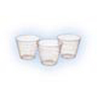 Crosstex 1 oz. Medicine/Mixing Cups - Clear Plastic, Box of 1000