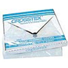 "Crosstex 9.5"" x 14"" Clear Plastic Headrest Covers. Manufactured from clear"